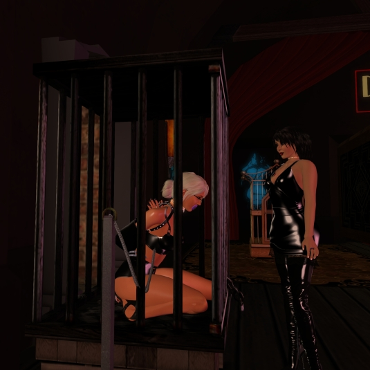 August 13th: Mistress Jenny and Diomita at club DeLust