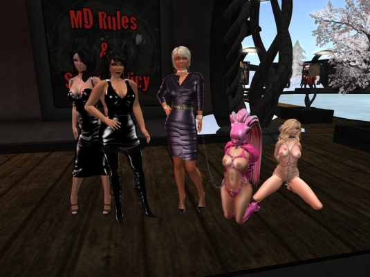 August 14th - at MD: Poison, Mistress Jenny, Diomita, slaven C and Jana