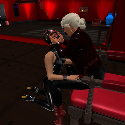 August 16th: Diomita and Jenny at Xaara's red room (3)