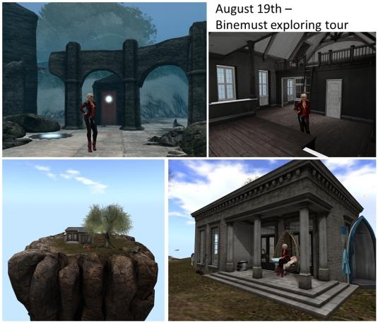 20160819 Binemust exploring tour