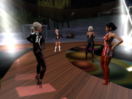 Sept 2nd - Friday night Party: Diomita, Angelique, Kitty, Jenny