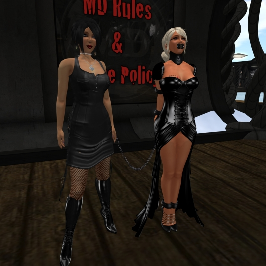 Sept 4th: Mistress Jenny and Diomita at MD