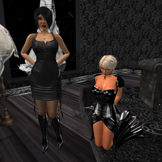 September 8th: Mistress Jenny with Diomita at TSH
