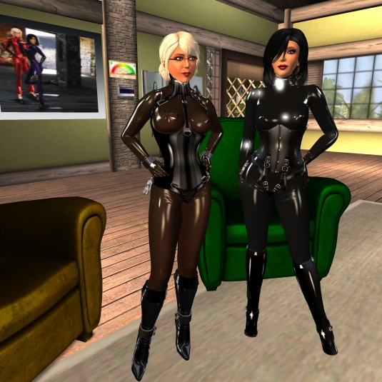 September 23rd: Diomita and Mistress Jenny at home