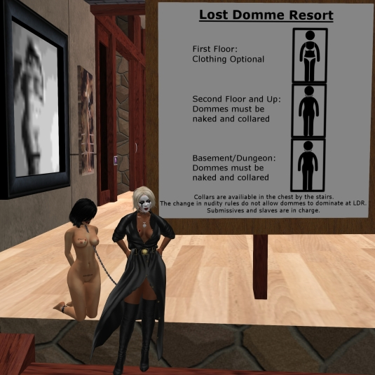 Ocotber 30th: Mistress Diomita and Jenny at Lost Domme resort
