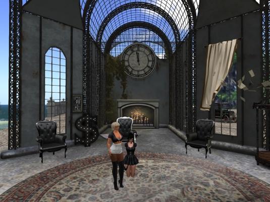 November 6th at HeAdLiGhTs: Diomita and Posion at the meeting area