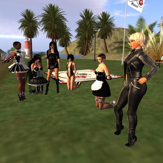 November 16th - Key shuffle: slave maid Flo, slave maid Adarra, Jenny, Poison. slave maid cecy, Diomita
