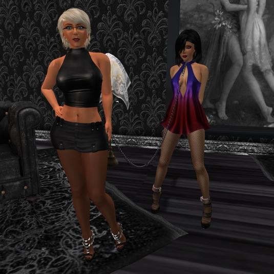 November 17th: Mistress Diomita and Jenny at TSH