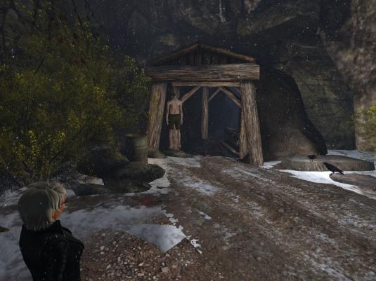 November 12th: The old mine at Woodbury Falls