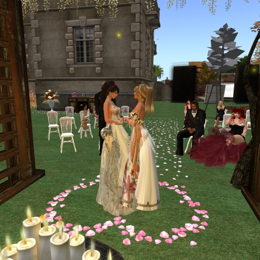 November 20th: Zoey and Angelique's collaring ceremony