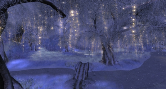 November 12th: Scenic atmosphere at Telrunya Winter