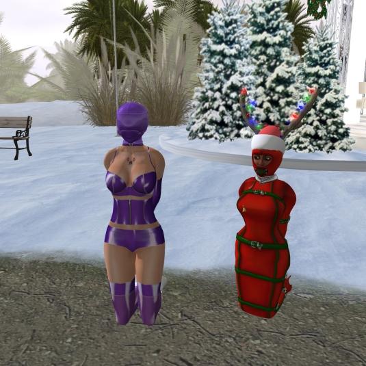December 6th: slave cecy and slave Flo