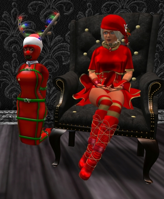December 8th at TSH: Diomita and slave Flo