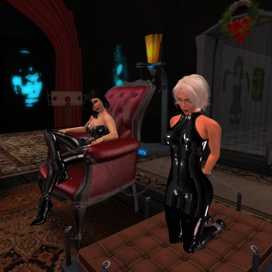December 19th: Mistress Jenny and Diomita at Club DeLust
