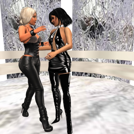 Jan 5th: Mistress Jenny and Diomita's last dance in the Christmas gazebo for this season