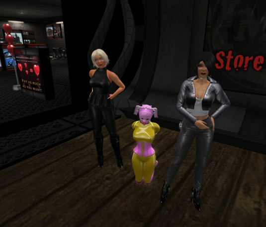 Jan 11th at MD: Diomita, slave Flo and Mistress Jenny