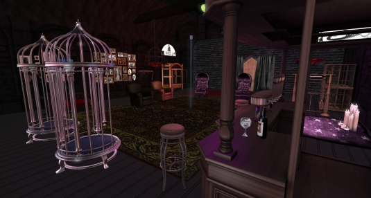 January 24th: A view inside of Fetisch Club Chez Maurer (1)
