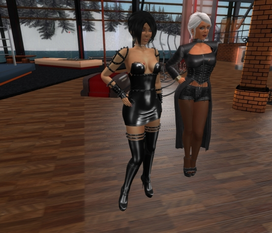 Jan 25th: Mistress Jenny and Diomita at DaD