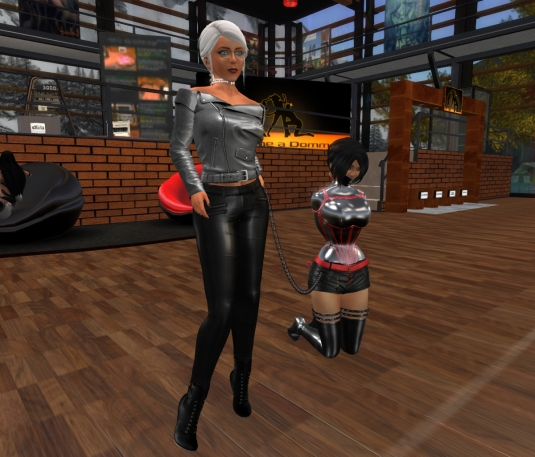 Jan 27th: Mistress Diomita with Jenny at DaD