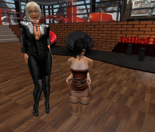 Feb 3rd: Mistress Diomita and Jenny at DaD