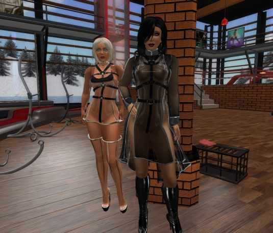 Feb 11th at DaD: Mistress Jenny and Ehesklavin Diomita