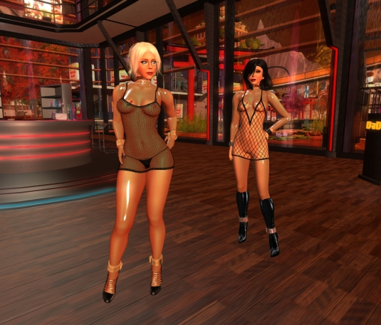 Feb 12th at DaD: Diomita and Mistress Jenny playing a dangerous game