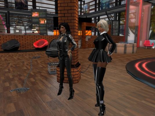 Feb 18th: Mistress Jenny and Diomita at DaD