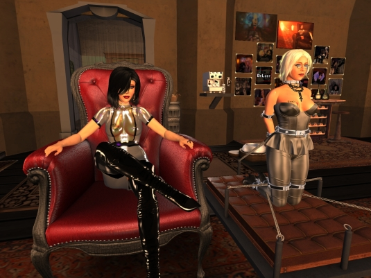 Feb 24th - Mistress Jenny and Ehesklavin Diomita at club DeLust